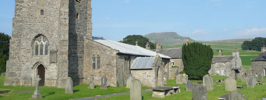 Pen y Ghent from church at Horton
