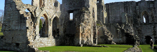 Ruins of Easby Abbey