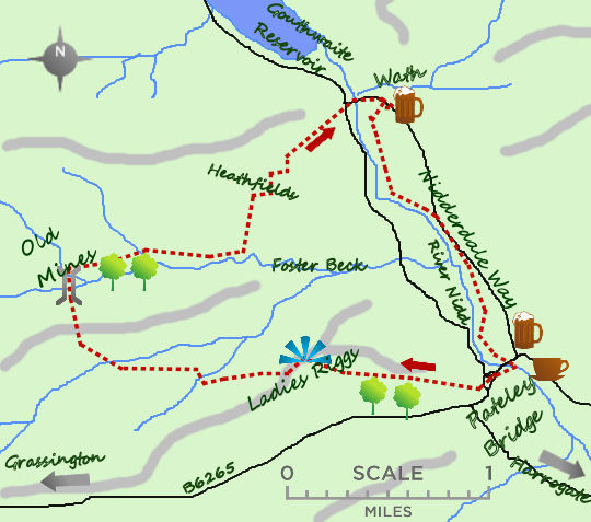 Pateley Bridge map