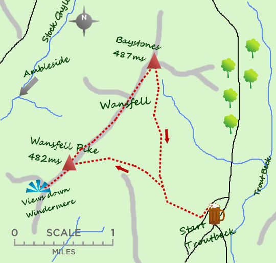 Wansfell map