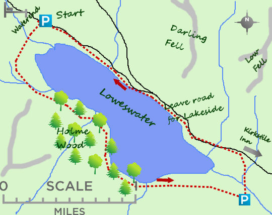 Loweswater map
