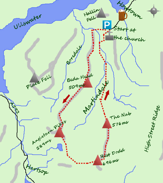 Martindale map