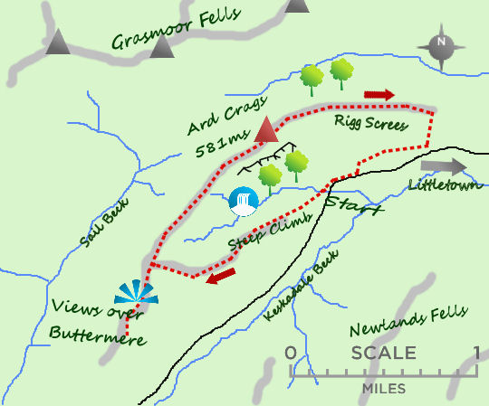 Newlands map