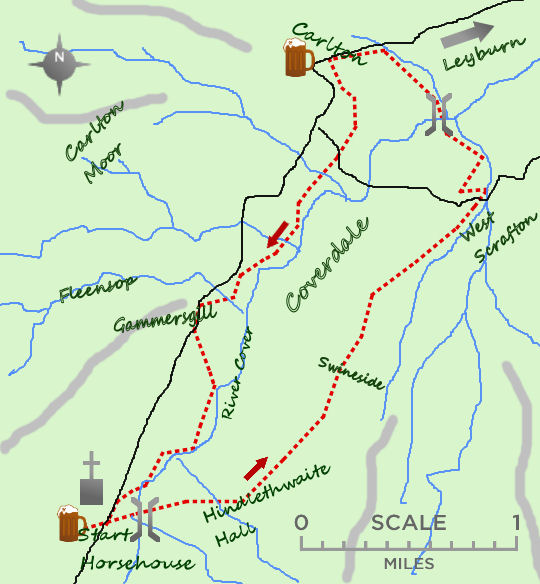 Coverdale map