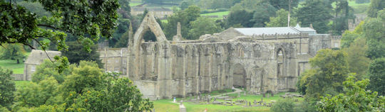 Ruins of Bolton Abbey