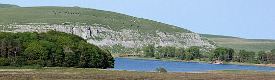 Malham Tarn from west