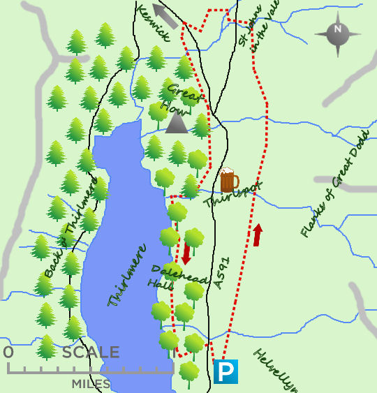 Thirlmere map
