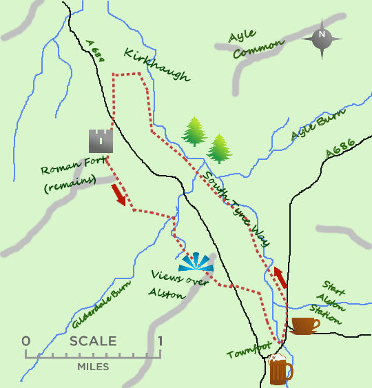 Alston Discoverer map