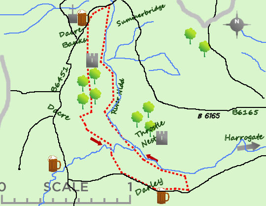Lower Nidd map
