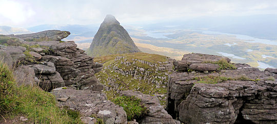 Summit area on Suilven
