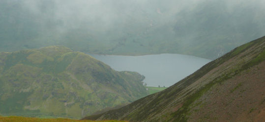 Glimpses of Buttermere