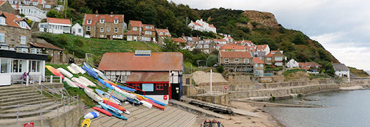 Village of Runswick Bay