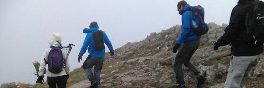 Windy on the Langdales