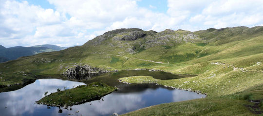 Angle Tarn reflections