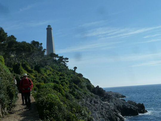 Walking the coastal, path