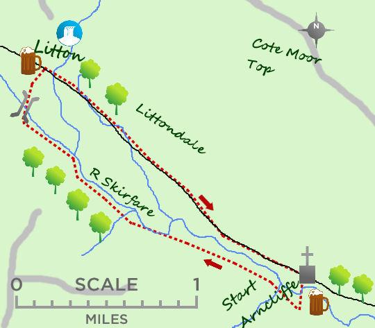 Littondale map