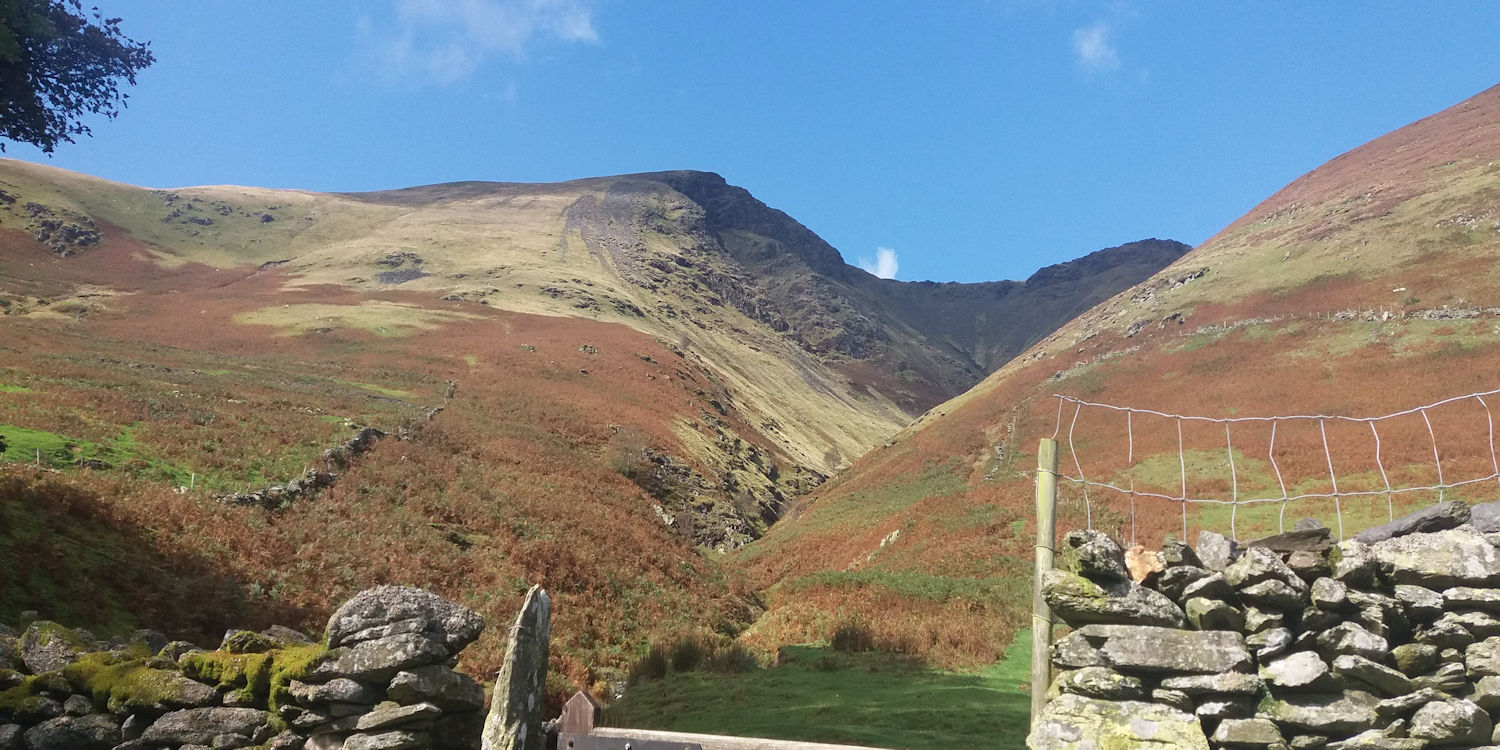 Blencathra from Threlkeld
