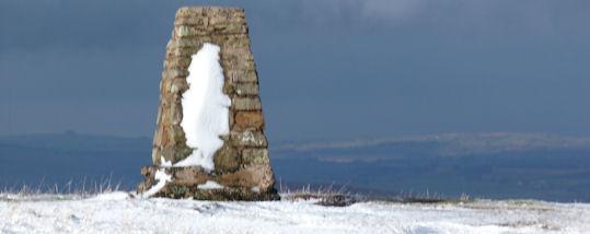 Cairn on Loadpot Hill