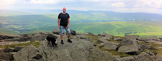 Keith summit of Great Whernside