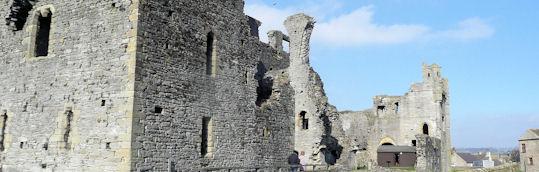 Ruins of Middleham Castle