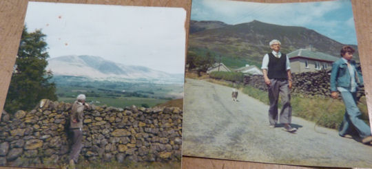 My dad near Blencathra