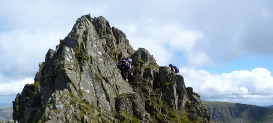 The tricky bit striding edge
