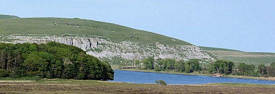 Malham Tarn from west