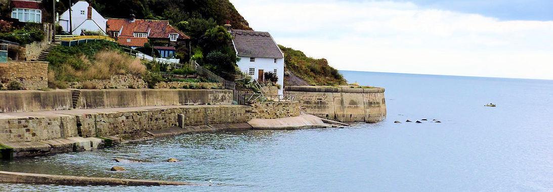Coast at Runswick Bay