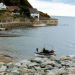 Fishing boat at Runswick Bay