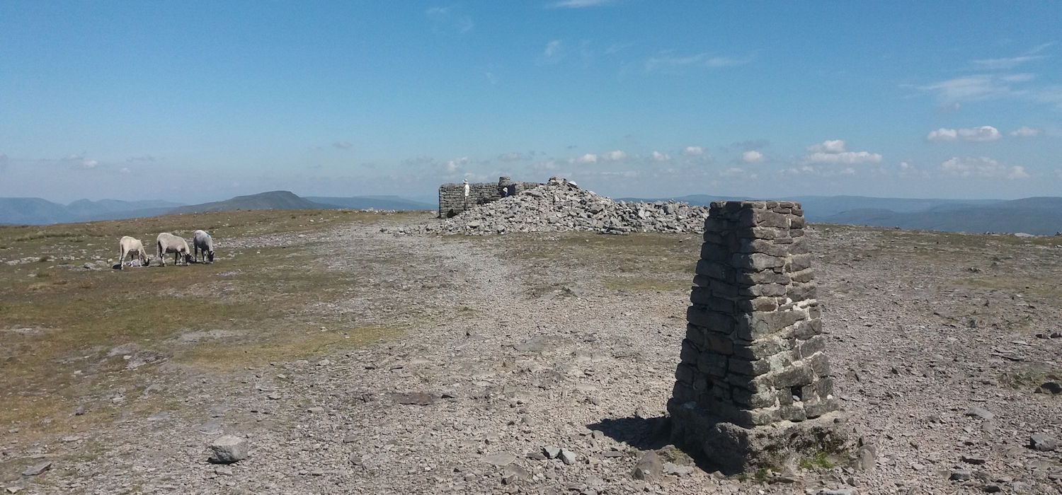 Summit of Ingleborough