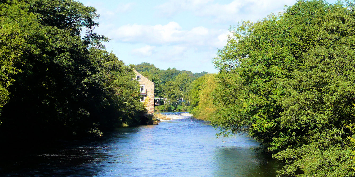 River Wharfe at Addingham