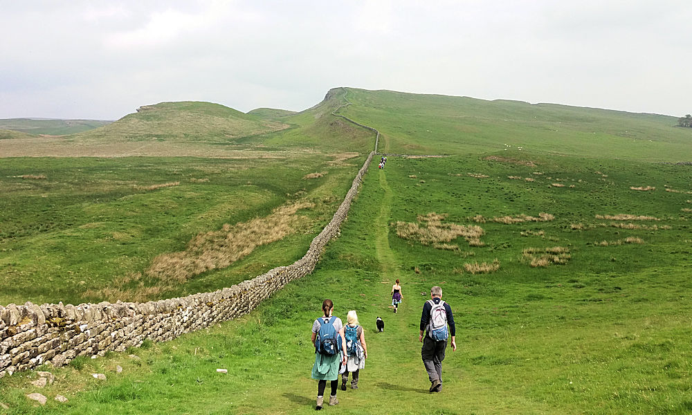 Near Housesteads, Hadrian's Wall