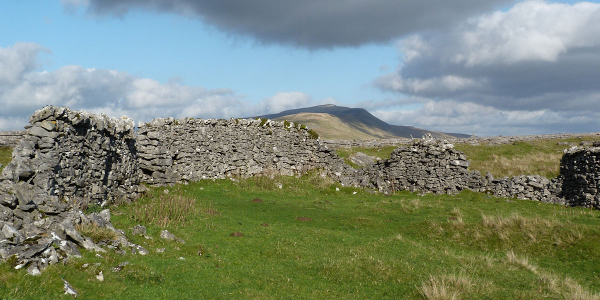 Whernside from Twisleton Scar