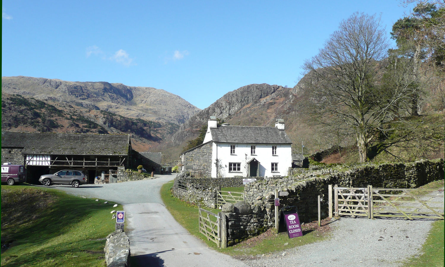 Yew Tree Cottage & the Coniston Fells