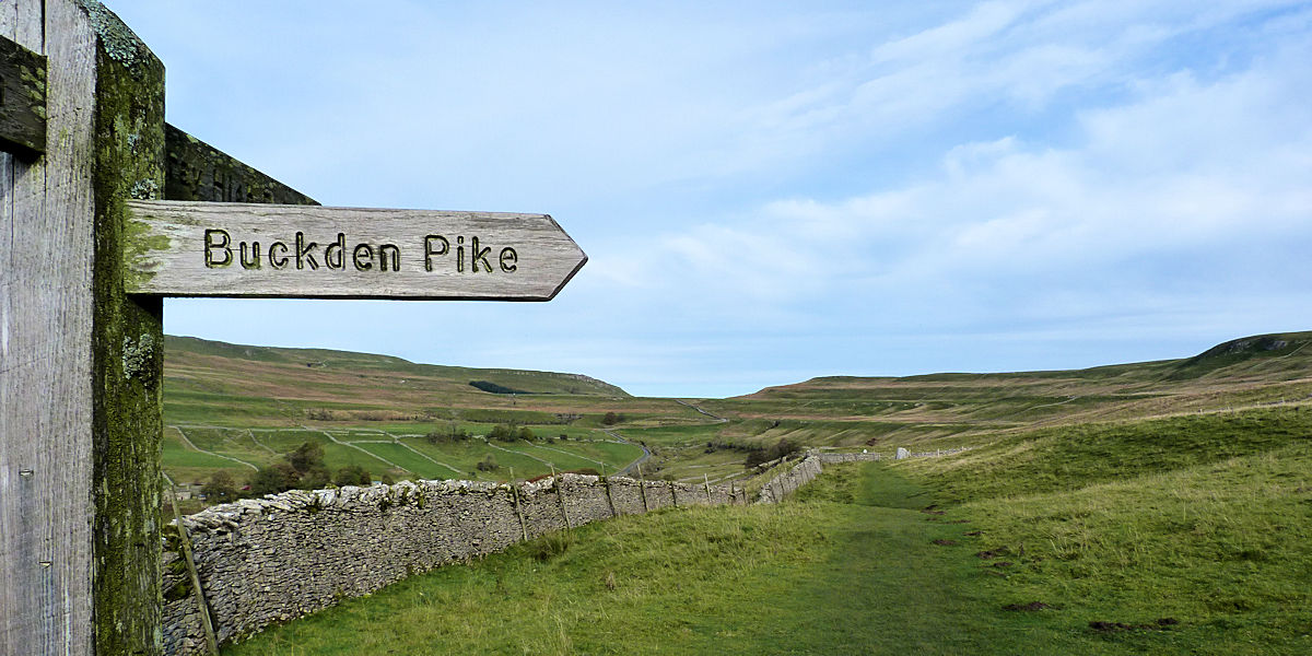Buckden Pike above Cray