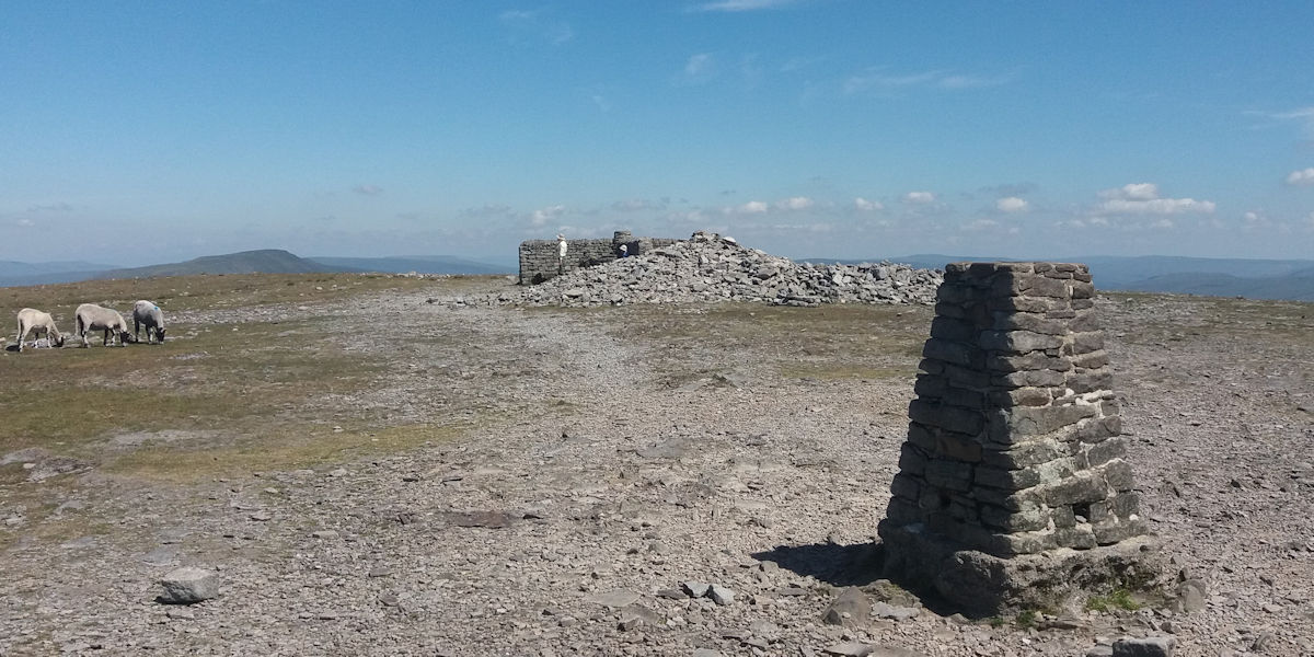 Ingleborough summit plateau