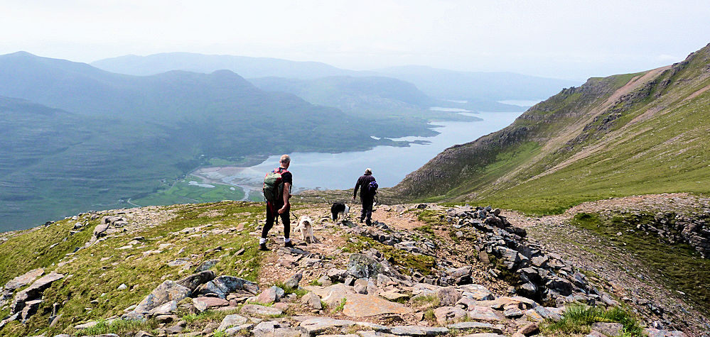 Loch Torridon from Liathach