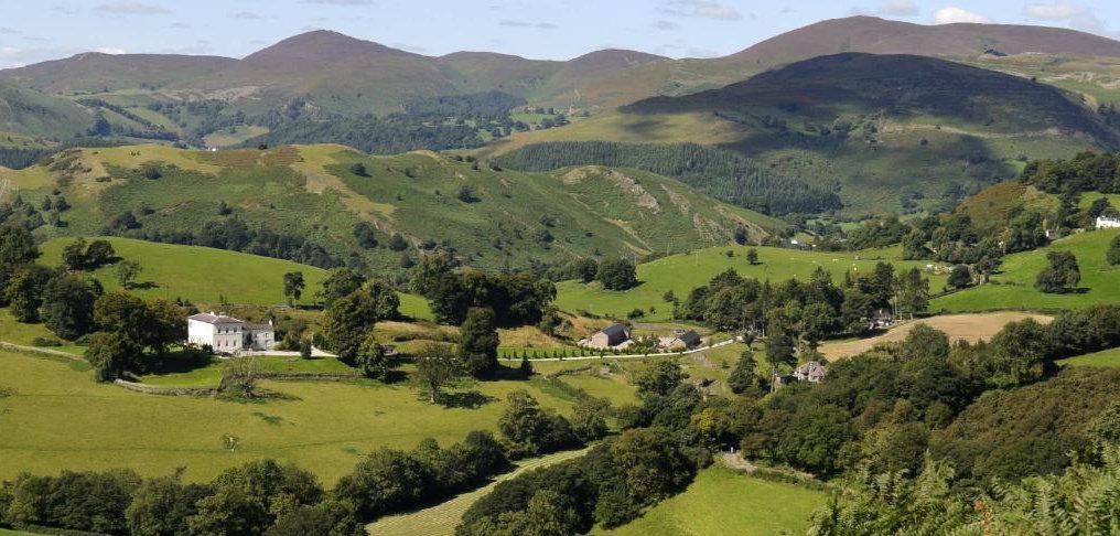Green valleys near the Wye