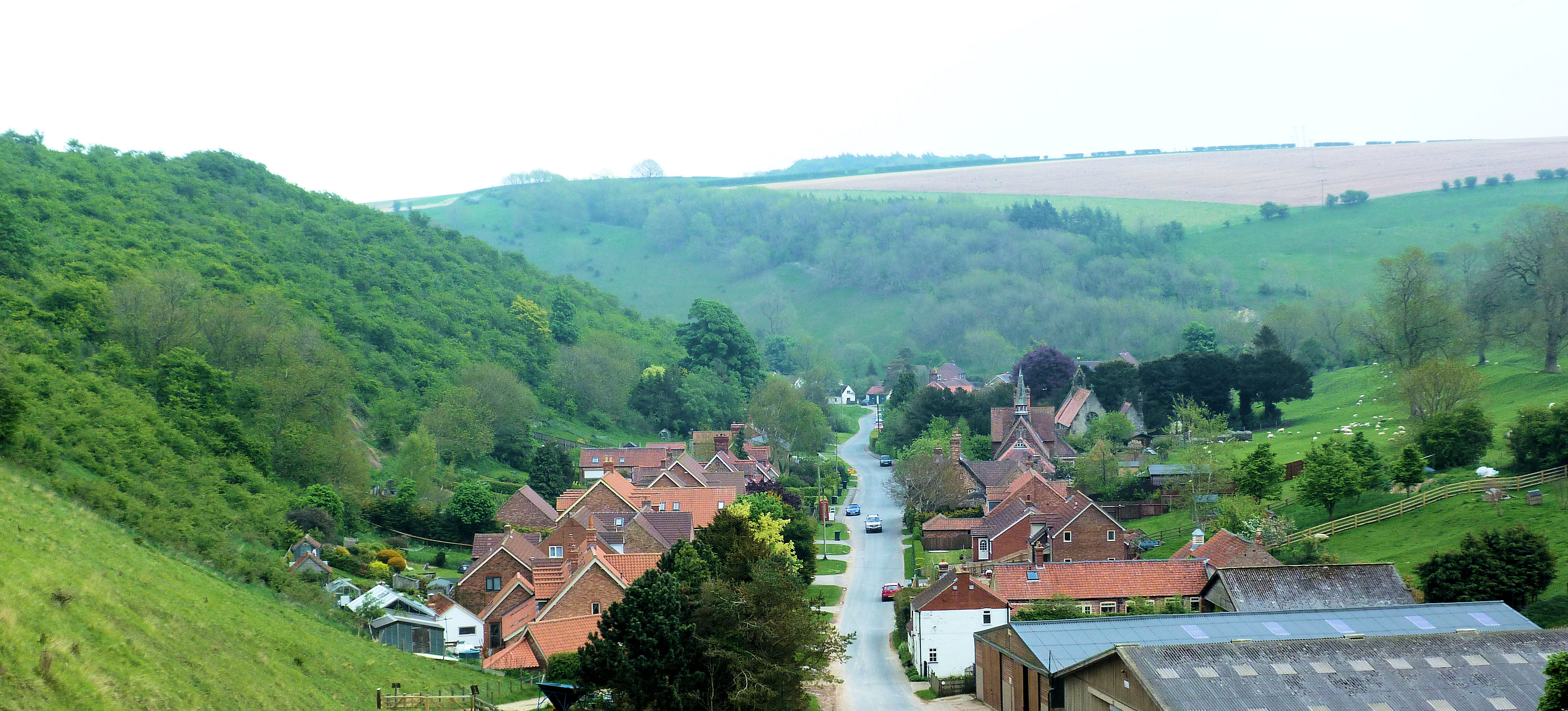 Pretty village of Thixendale