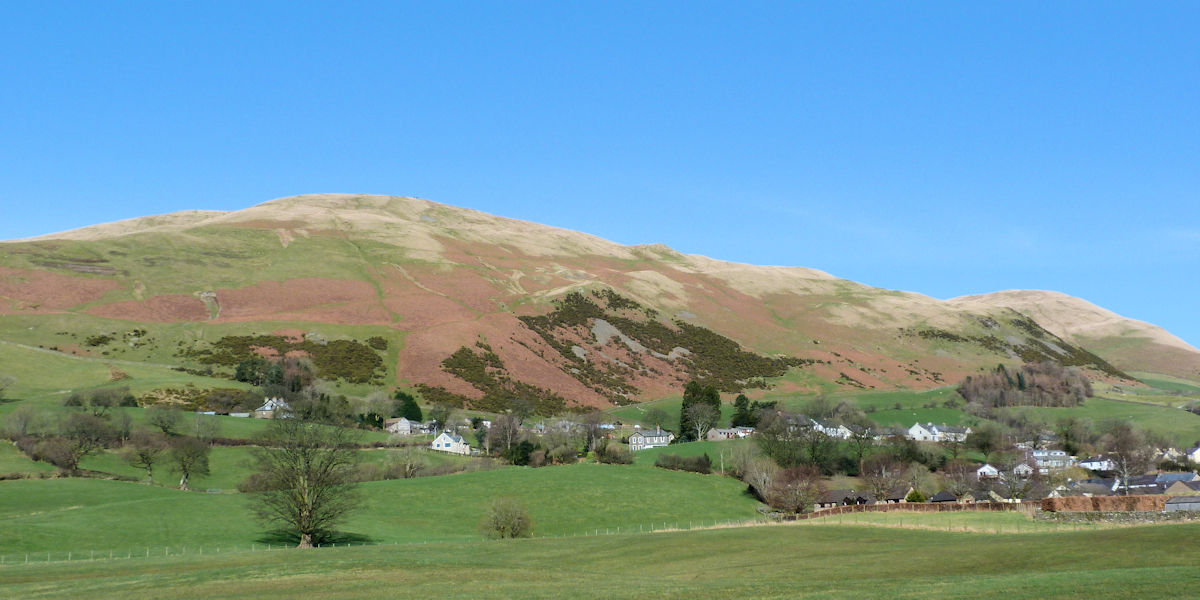 Sedbergh with Winder behind