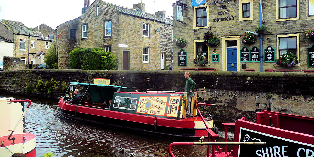 Skipton Canal Boats