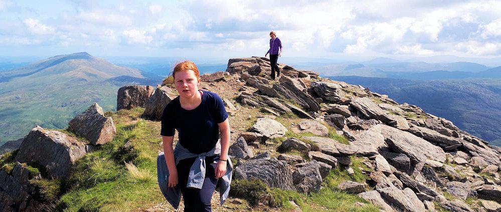 Twin summit of Y Lliwedd