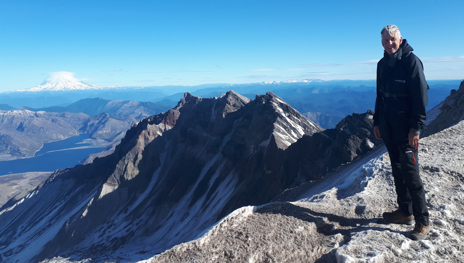 Crater Rim of Mount St Helens