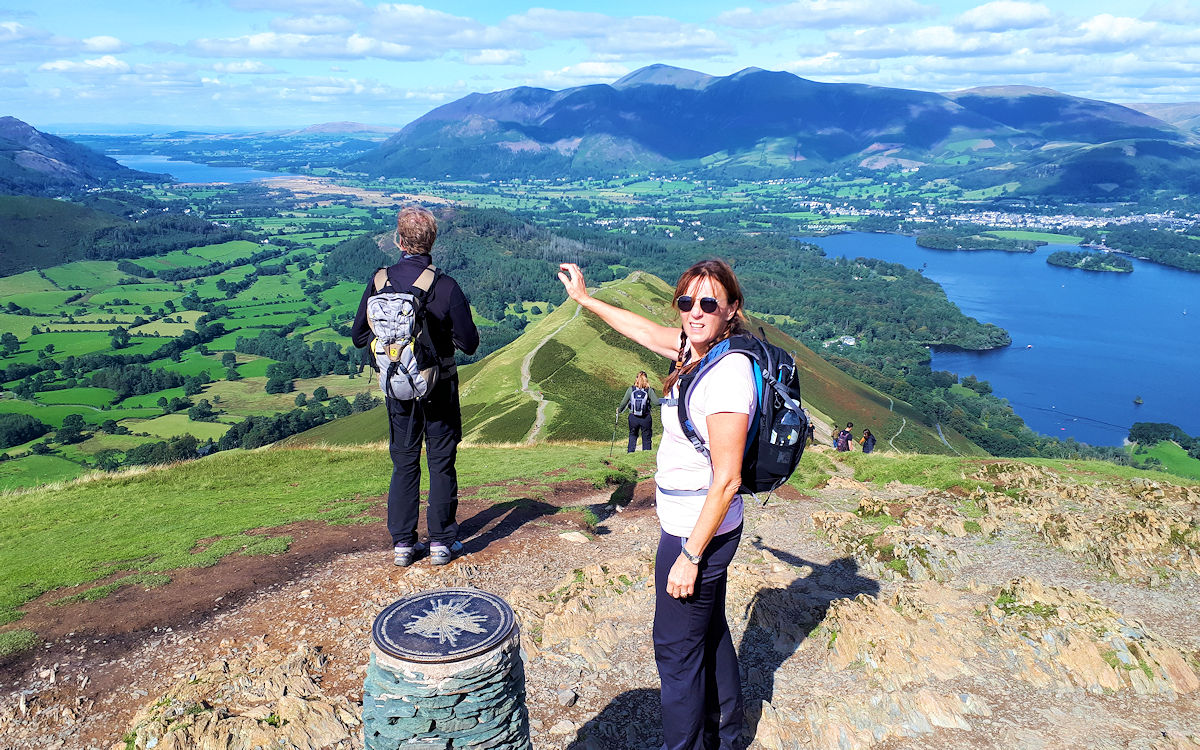 Summit of Catbells
