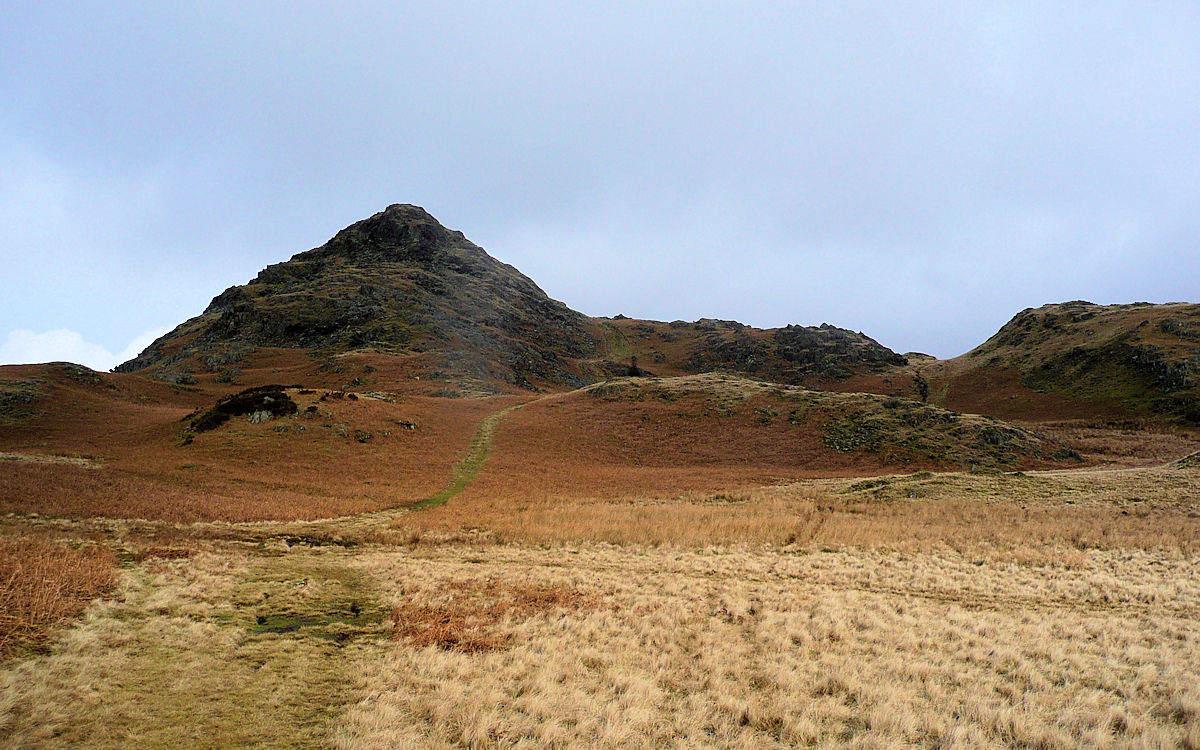Stickle Pike in Dunnerdale