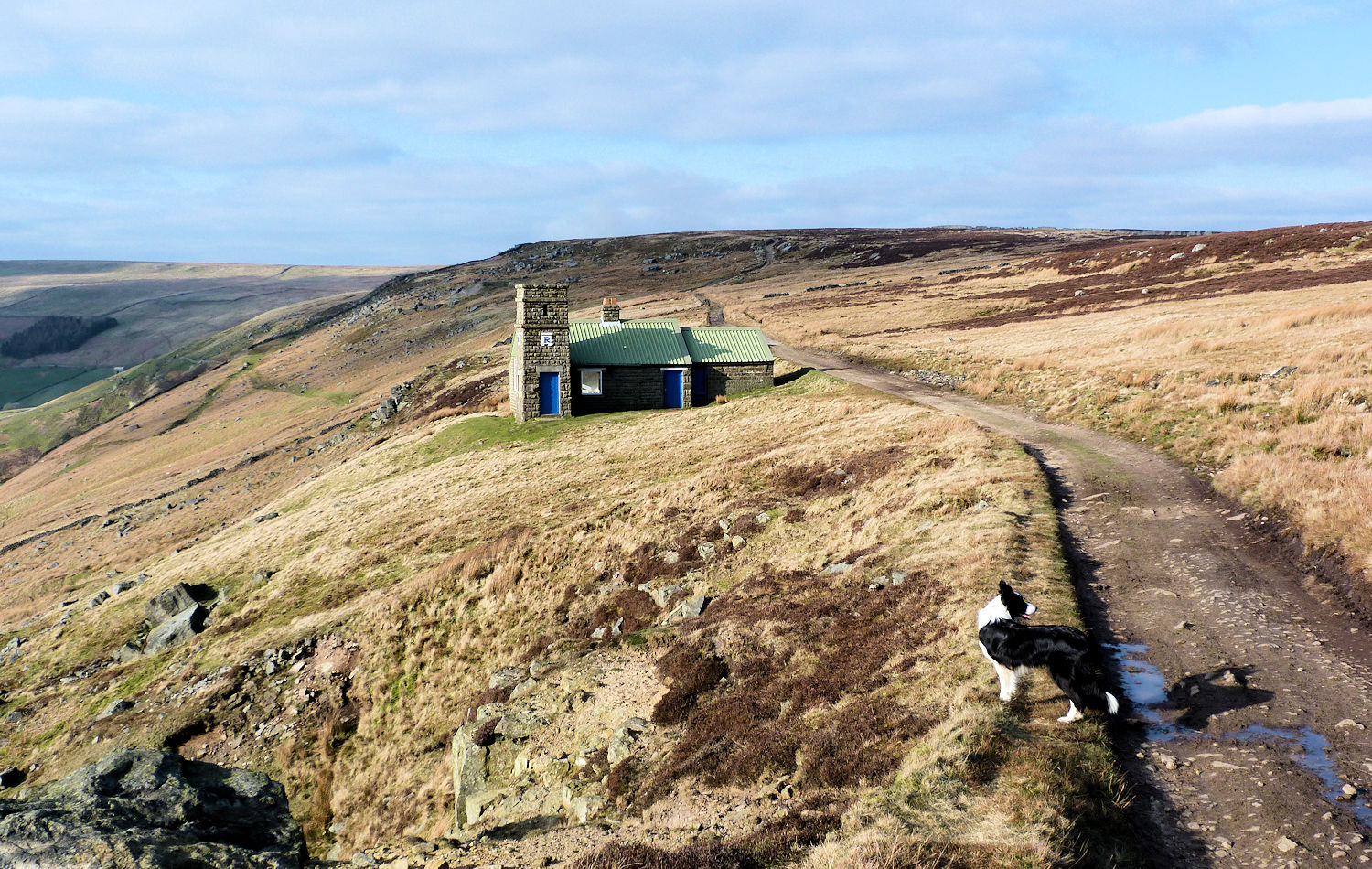 The Shooting Lodge above the Nidd
