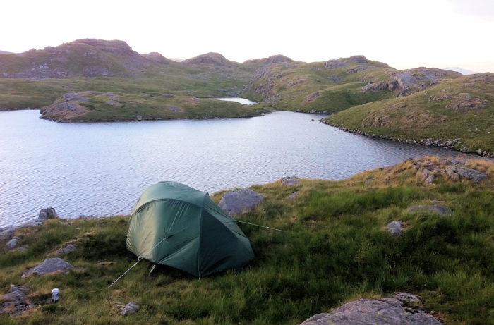 Wild Camp at Sprinkling Tarn