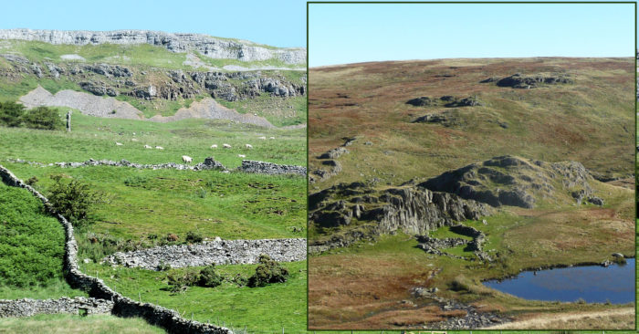 Typical Scenery in the Dales and the Lakes