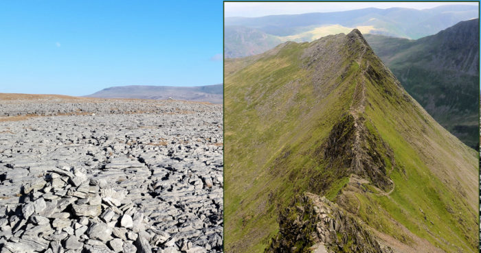 Crummockdale and Striding Edge