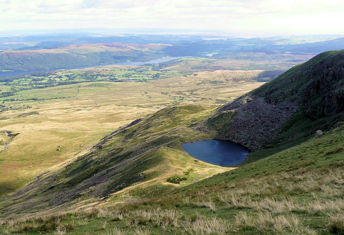 Blind Tarn near Coniston Old Man